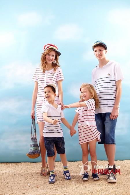 上流家族亲子装 演绎动人的亲情和梦想