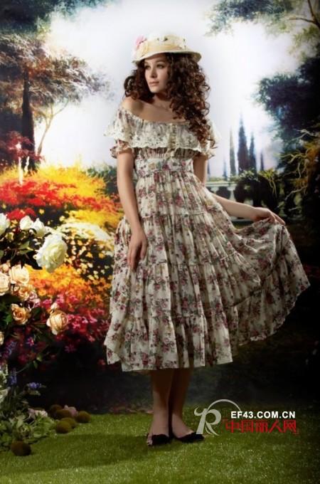花儿开了2012夏季新品 恰如花草丛林里的精灵
