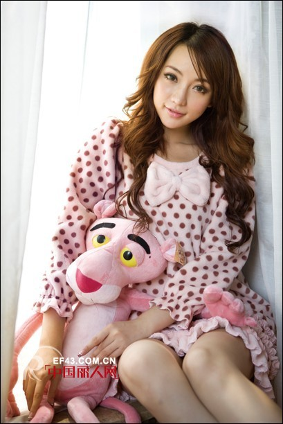 桃花季2012新款家居服系列