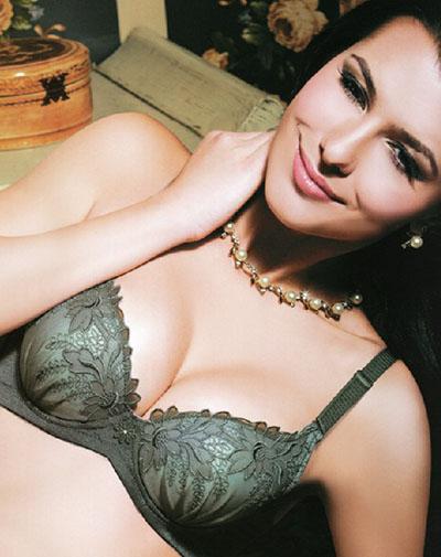 """安希娅生态内衣打造专属自己的美丽""""模板"""