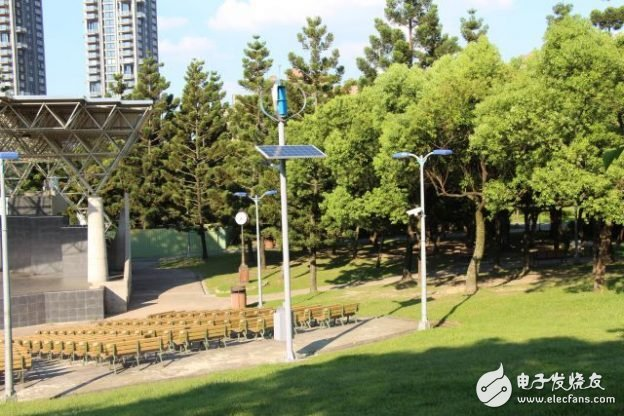 """Taipei's """"scenery"""" is infinitely good! Try to set up solar energy and wind street lights with charging function"""