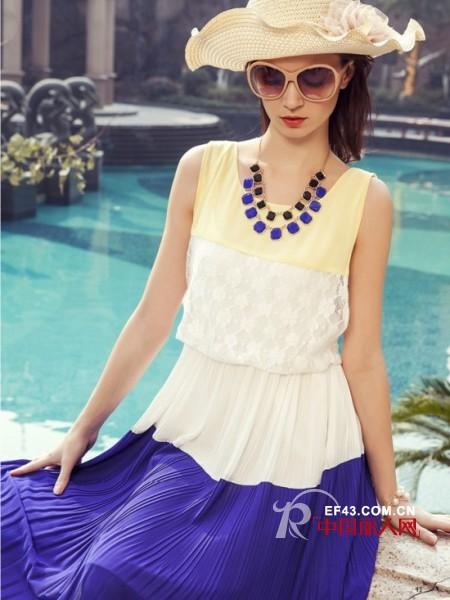 夏季新款女装搭配 夏季百褶裙怎么搭配