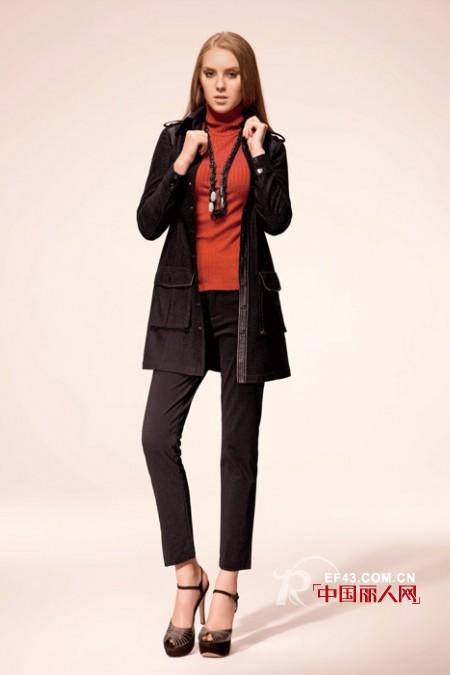 秋冬季节风衣应该怎么搭配