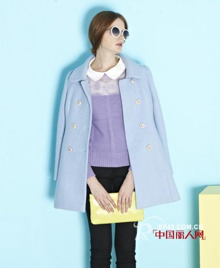 尤加·迪曼兰花紫色服装单品 优雅难挡