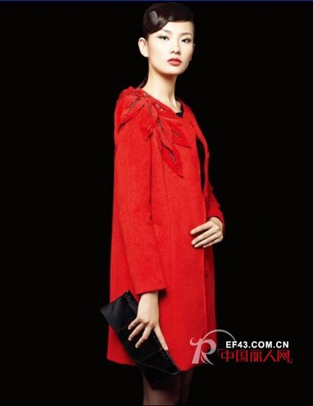 锦玺唐经典中式女装 红色喜庆装迎佳节