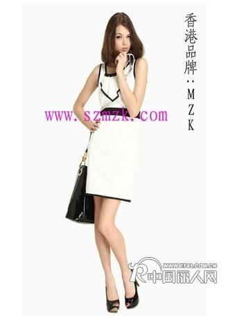 MZK品牌女装 随处增添的女人韵味