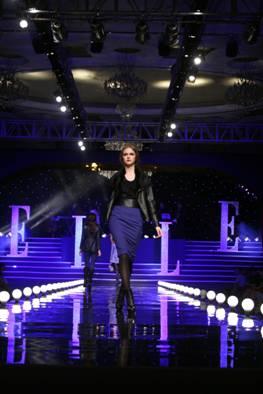 ELLE女装2012秋冬新品发布会  绽放法式优雅时尚
