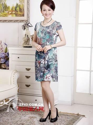 时髦妈妈装品牌 中年妇女夏天穿什么