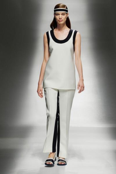 带来极简风格 Prada(普拉达)2013年早春女装