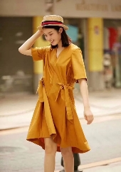 AMASS Women's 2018 Summer New Color Dress Collection