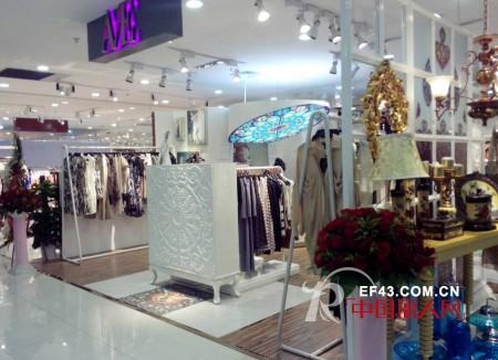 热烈庆祝A/E连奴女装杭州银隆购物中心店盛大开业