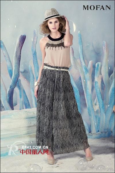 摩凡时尚女装 梦幻甜美长裙女神范 抢占潮流趋势