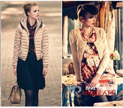 太和女装2012秋冬新品 给自己放一个悠然假期
