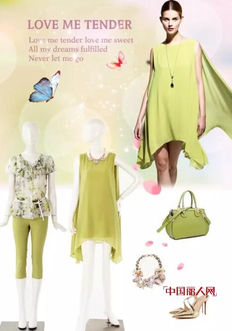 夏季清凉飘逸连衣裙搭配 夏季流行连衣裙款式