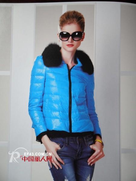 萍叶2012冬季短款棉服 身材娇小MM们的福音