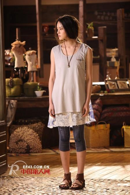 木子衣芭2014年夏装新品上市 领衔女性步入时尚界