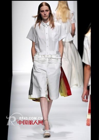 Sacai品牌  2013春夏成衣展