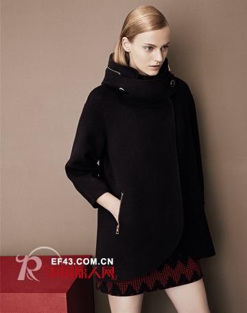 JZ玖姿新款大衣 独具匠心的优雅