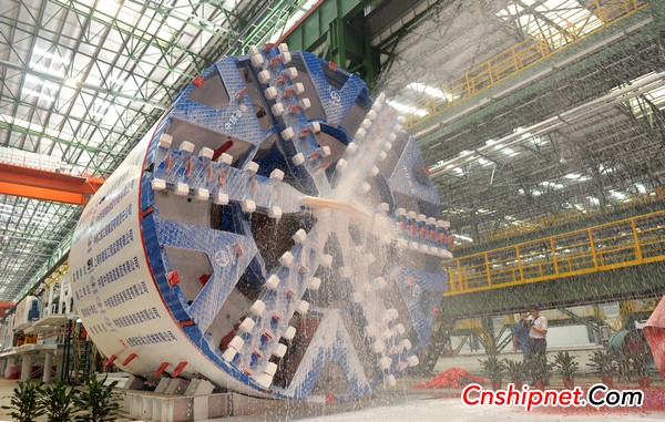 Rongan Power's first shield machine off the assembly line