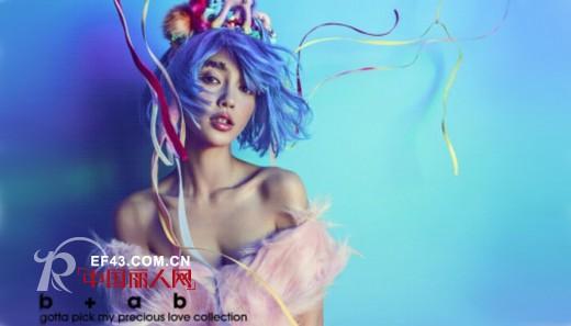 Angelababy代言女装品牌b+ab 2013秋冬广告大片