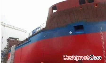 "New shipbuilding ""Eeva VG"" with Ecospeed coating"