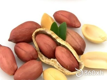 Chewing peanut cleaning method