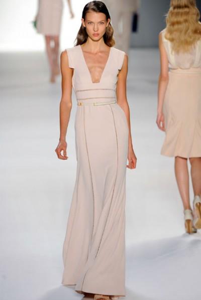Elie Saab巴黎时装周掀起色彩冲击浪潮