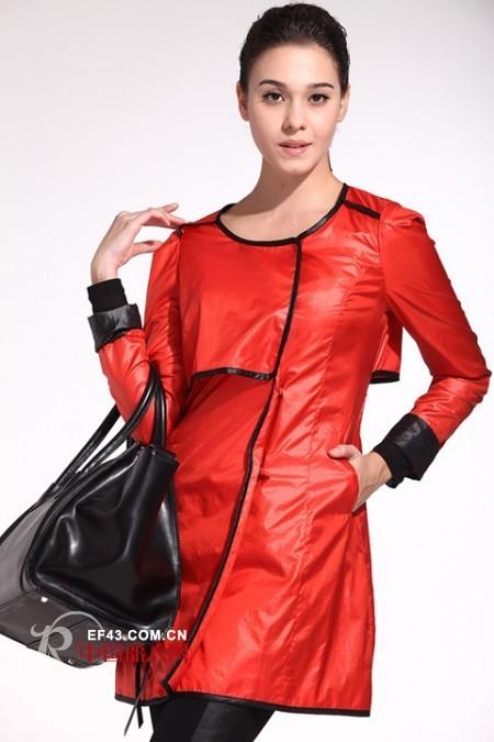 冬季穿什么颜色最好看 当然红色最流行