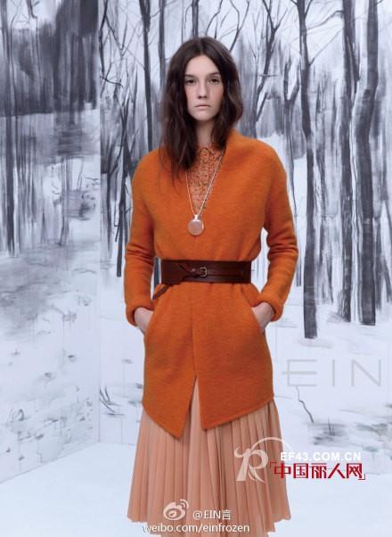 EIN时尚品牌女装2012秋冬  来自森林的精灵