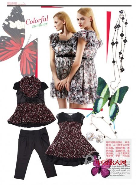 尤尼可(UNIKON)女装2012春夏系列新品全新上市