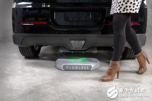 Evatran's Plugless wireless charging system for vehicles