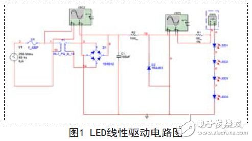 Linear drive circuit schematic