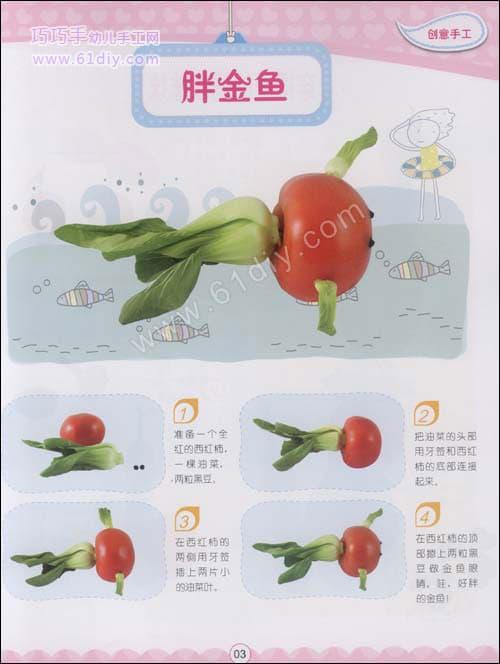 Vegetable Handmade - Fat Goldfish