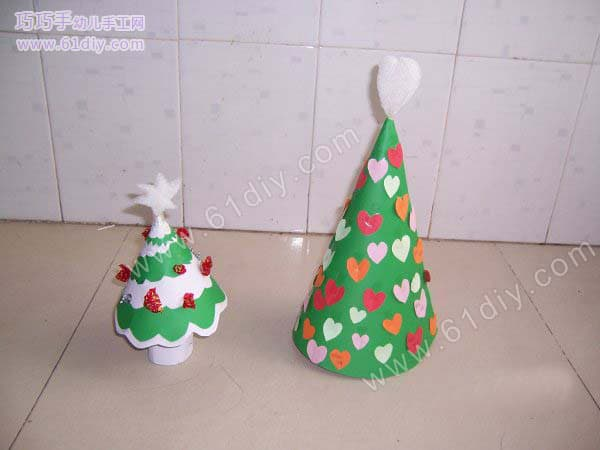 Christmas tree handmade
