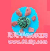 Stone handmade - turtle