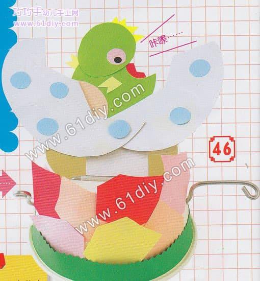 Children's manual tutorial - dinosaur eggs