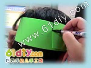 Dragon's headgear handmade tutorial