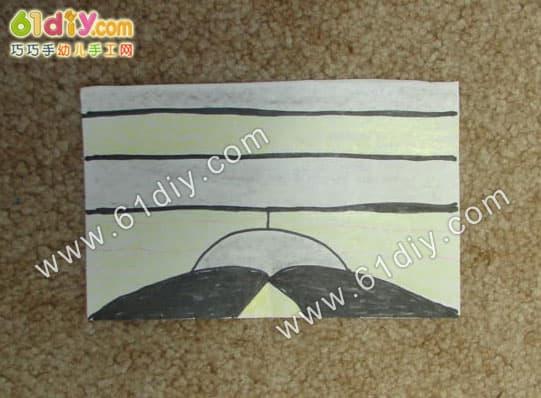 Roll paper core handmade flies