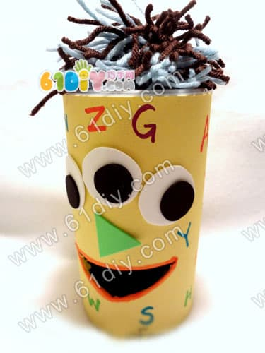 Letters handmade - little monsters who love cookies