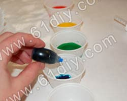Coffee filter paper making butterfly