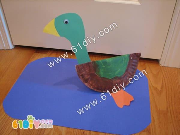 Paper tray handmade duckling