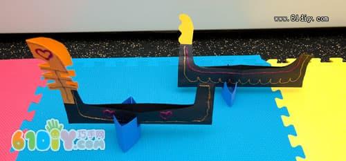 Simple way of dragon boat