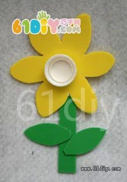 Small flowers handmade