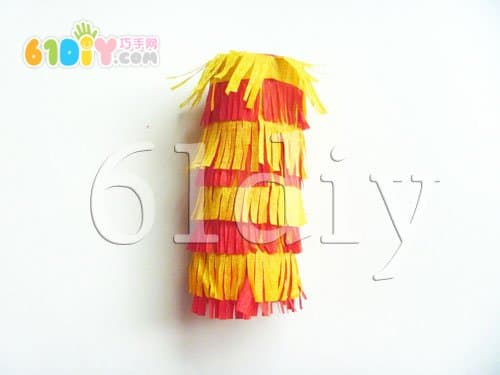 Roll paper core handmade lantern