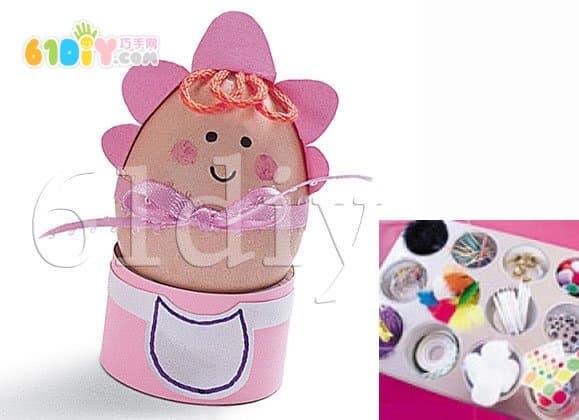 Eggshell handmade baby