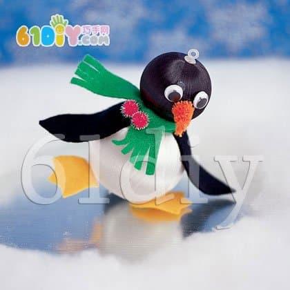 Handmade cute penguin baby