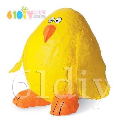 Balloon handmade chick