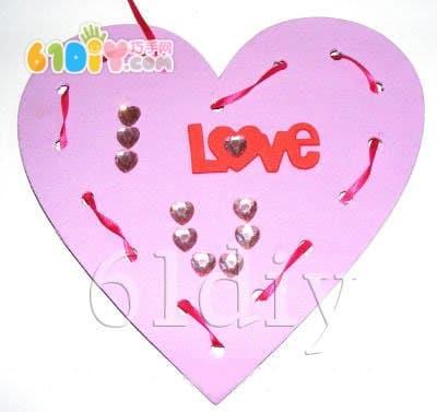 Kindergarten Mother's Day Handmade - Love