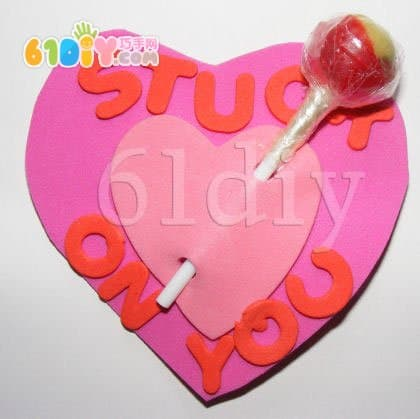 Mother's Day Gift - Love Lollipop