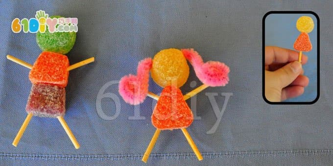 QQ sugar villain handmade